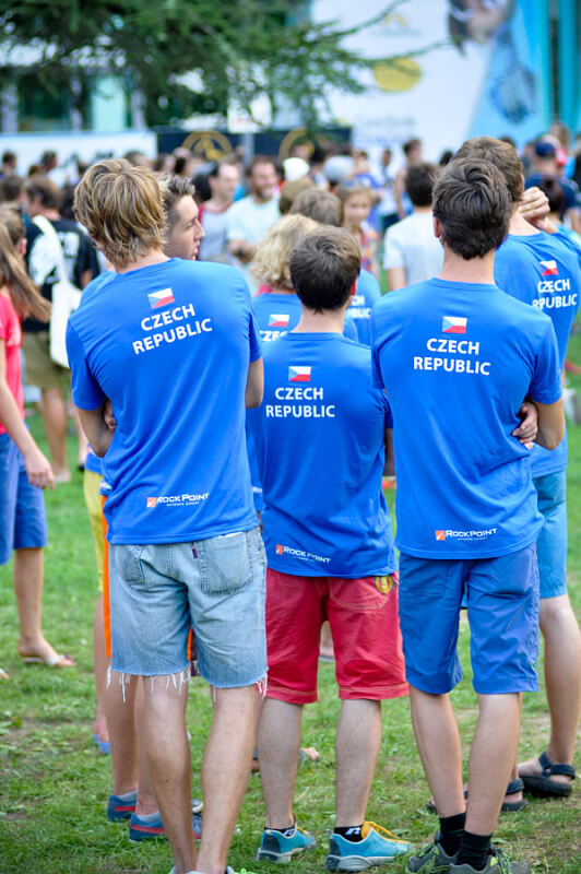 Czech Republic climbing team