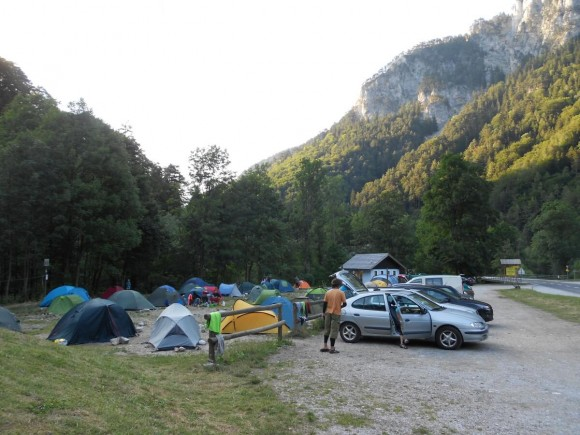 Kaiserbrunn free camp